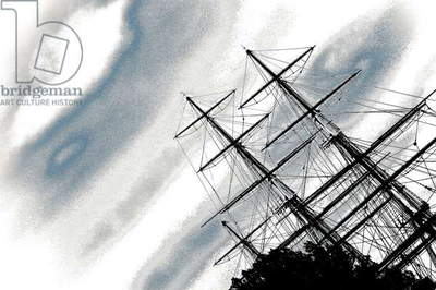The Cutty Sark, from the series, The Cutty Sark, 2013, (photograph)