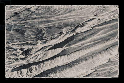 Ridges, from the series, Nevada Desert, 2015, (photograph)