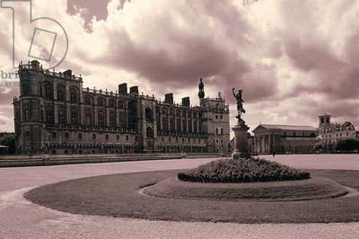 France: Creative Photography, Chateau de St-Germain-en-Laye, c.1997 (photo)
