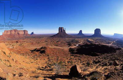 Monument Valley: Topographic Views, c.1997 (photo)