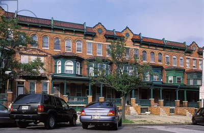 Bolton Hill, Baltimore: Topographic Views, c.2003 (photo)