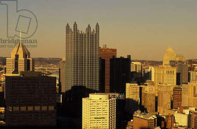 Pittsburgh: Skylines, Topographic Views, c.1997 (photo)