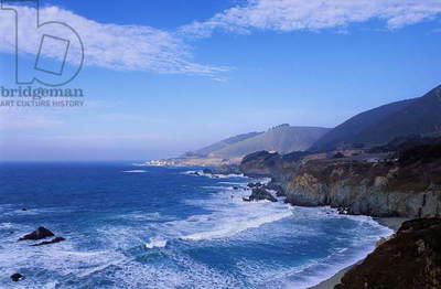California Coast: Topographic Views, c.1997 (photo)