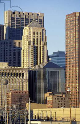 Chicago: Skylines, Topographic Views, 1995 (photo)
