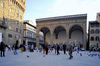 Piazza della Signoria: Topographic Views, 1997 (photo)