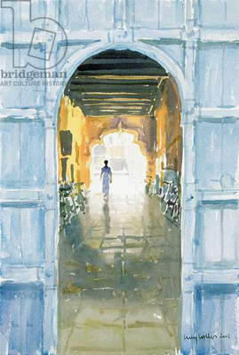 Walking Towards the Light, Cochin, 2002 (w/c on paper)