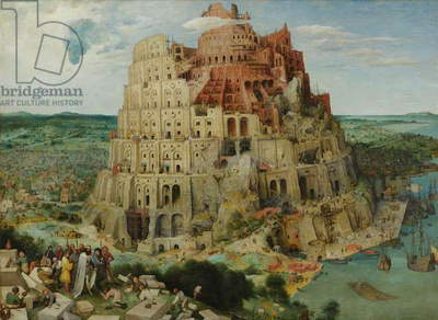 Tower of Babel, 1563 (oil on panel) (for details see 93768-69, 186437-186438)