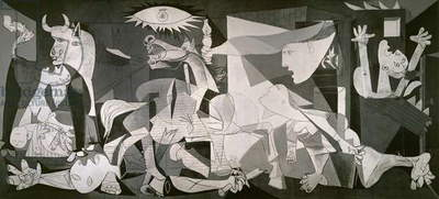 Guernica, 1937 (oil on canvas)