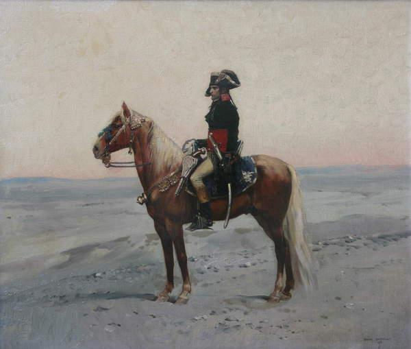 Image of Bonaparte in Egypt, 1878 (oil on canvas) by Detaille, Jean-Baptiste Edouard (1848-1912) © Bridgeman Images
