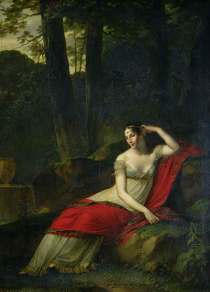 Image of a Portrait of the Empress Josephine (1763-1814), 1805 (oil on canvas) by Prud'hon, Pierre-Paul (1758-1823), married Napoleon Bonaparte 1796-divorced 1809; © Bridgeman Images