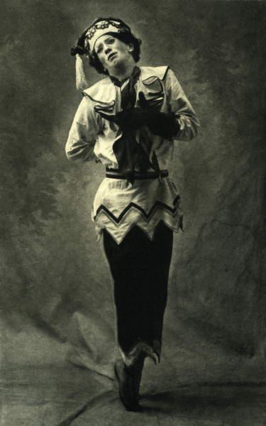 Image of Igor Stravinsky 's 'Petrushka'/ Petrushka, with Nijinsky as Petrushka, 1911. Russian composer, 1882-1971, © Lebrecht Music Arts / Bridgeman Images
