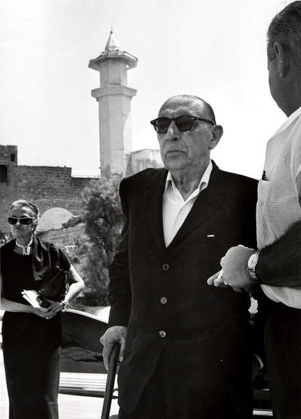Image of Igor Stravinsky in Jaffa, early 1960s. Russian composer, 1882 - 1971, © Lebrecht Music Arts / Bridgeman Images
