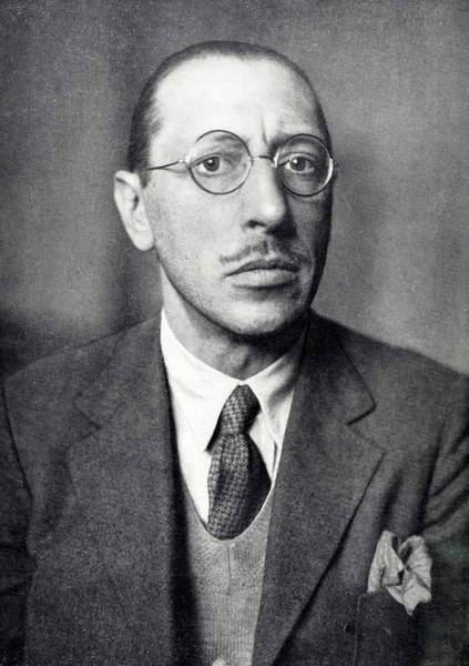 Image of Igor Stravinsky - portrait of the Russian Composer, 1882 - 1971, © Lebrecht Music Arts / Bridgeman Images