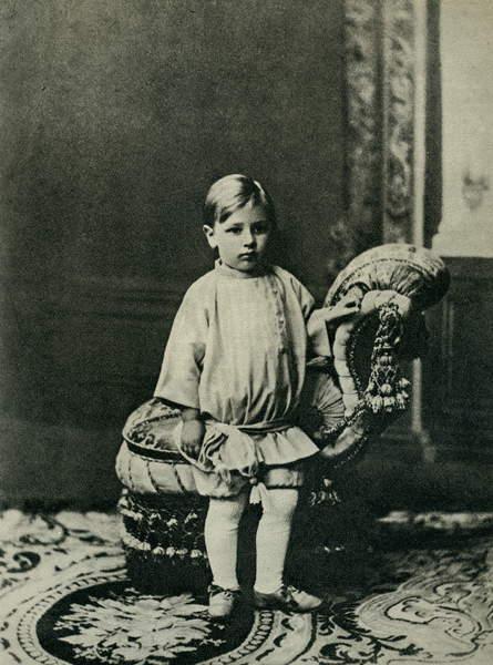 Image of Igor Stravinsky aged three and a half. Russian composer, 1882 - 1971, © Lebrecht Music Arts / Bridgeman Images
