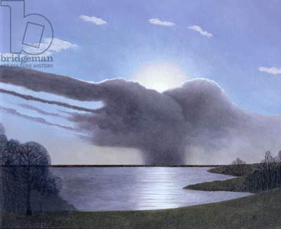 Draycote Cloud, 2004 (oil on canvas)