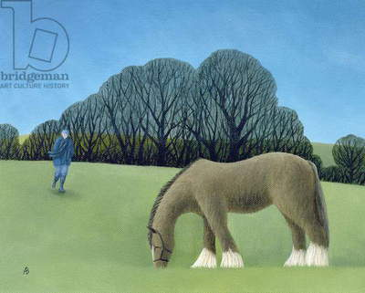 The Shire Horse, 2006 (oil on canvas)