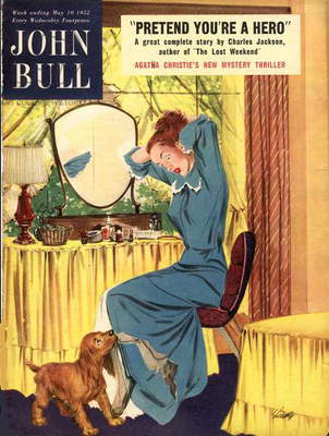 Front cover of 'John Bull', May 1952 (colour litho)