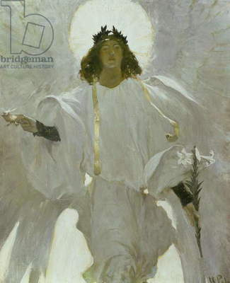 Why Seek Ye the Living Among the Dead?, 1905 (oil on canvas)