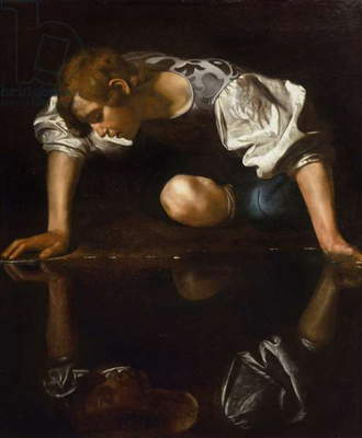 Narcissus, c.1597-99 (oil on canvas)