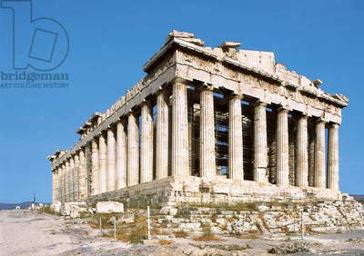 The Parthenon, built 447-432 BC (photo)