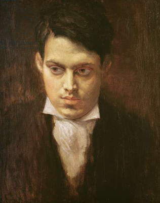 Wyndham Lewis (oil on canvas)