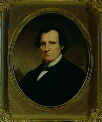 Thaddeus Stevens (1792-1868) (oil on canvas)