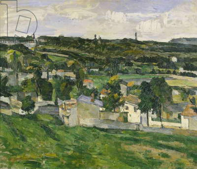 Near Auvers-sur-Oise, c.1880 (oil on canvas)