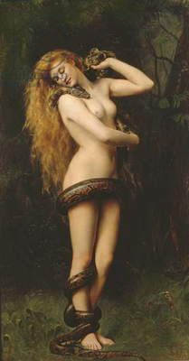Lilith, 1887 (oil on canvas)