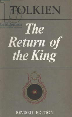 The Return of the King by Tolkien Book Cover, UK, 1970s