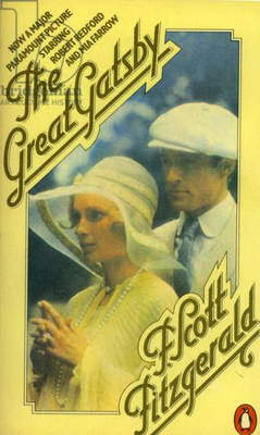 The Great Gatsby Book Cover, UK, 1970s