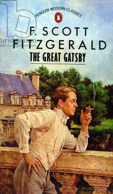 The Great Gatsby Book Cover, UK, 1980s