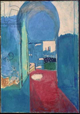 Entrance to the Casbah, 1912-13 (oil on canvas)
