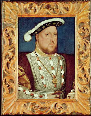 King Henry VIII (oil on oak panel)