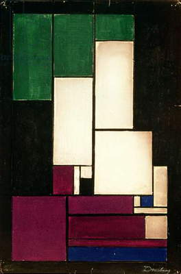 Composition, 1922 (gouache)