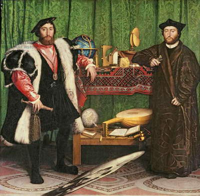 The Ambassadors, 1533 (oil on panel)