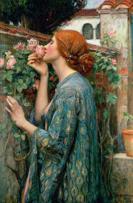 The Soul of the Rose, 1908 (oil on canvas)