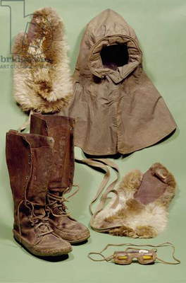 Scott's clothing used on the Antarctic expedition, 1901-4