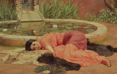 Dolce Far Niente, 1904 (oil on canvas)
