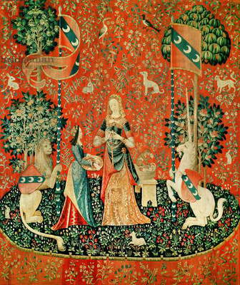 The Lady and the Unicorn: 'Smell' (tapestry)