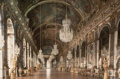 The Galerie des Glaces (Hall of Mirrors) 1678-84 (photo)