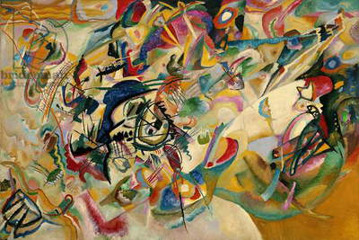 Composition No. 7, 1913 (oil on canvas)