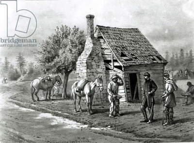 The Reliable Contraband (engraving) (b/w photo)