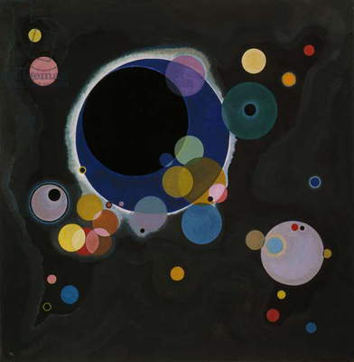 Several Circles, 1926 (oil on canvas)
