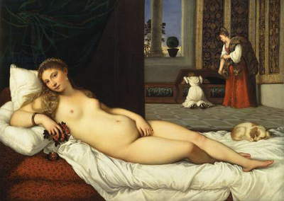 Venus of Urbino, before 1538 (oil on canvas)