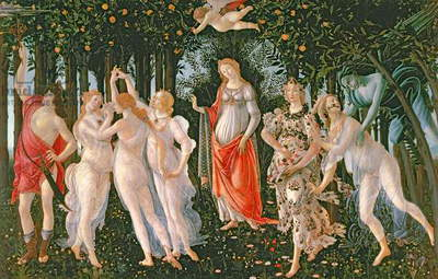 Primavera, c.1478, (tempera on panel)