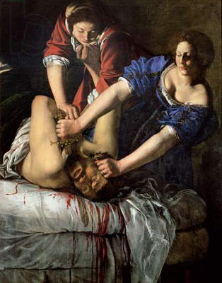 Judith and Holofernes (panel)