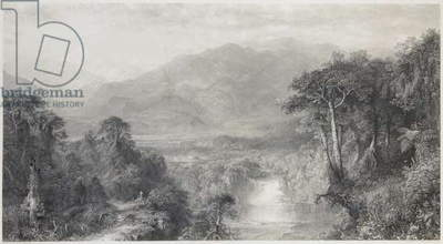 The Heart of the Andes (engraving)