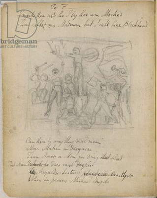 Sketch and poems of Blake