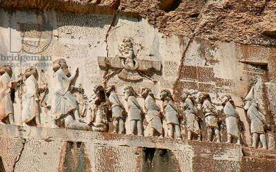 The Behistun Inscription, Kermanshah Province, Iran (photo)