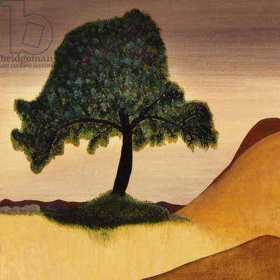 The Tree (oil on canvas)